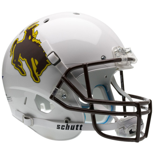 Wyoming Cowboys Schutt Full Size Replica XP Football Helmet