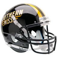 Southern Miss Golden Eagles Schutt Full Size Replica XP Football Helmet