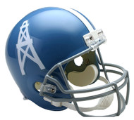 Houston / Tennessee Oilers Throwback 1960-62 Riddell Full Size Helmet