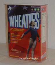 Wheaties 24 oz. Cereal Box Wall Mountable Deluxe Display Case