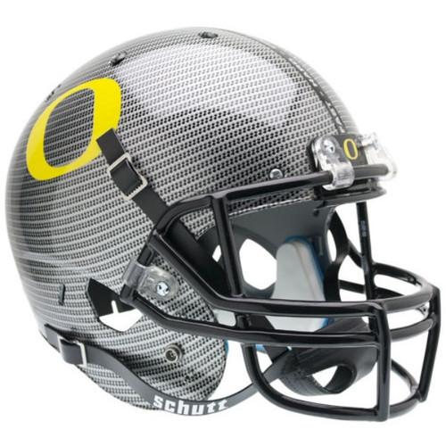 Oregon Ducks Schutt SPECIAL CARBON FIBER Full Size Replica XP Football Helmet