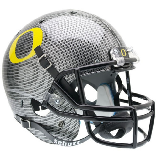 Oregon Ducks Schutt SPECIAL CARBON FIBER Full Size Replica XP Football Helmet