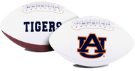 Signature Series NCAA Auburn Tigers Autograph Full Size Football
