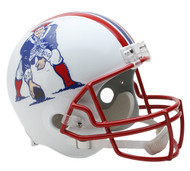 New England Patriots Throwback 1990-92 Riddell Full Size Replica Helmet