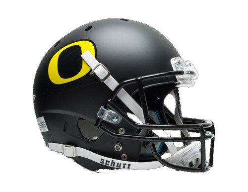 Oregon Ducks Schutt Full Size Replica XP Football Helmet - Flat Black