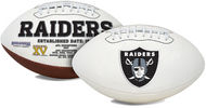 Signature Series NFL Las Vegas Raiders Autograph Full Size Football