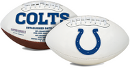 Signature Series NFL Indianapolis Colts Autograph Full Size Football