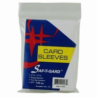 Soft Card Sleeves 5000 SOFT SLEEVES (50 PACKS) STG