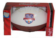 2013 NCAA BCS Autograph Junior Size Football (Notre Dame vs. Alabama)