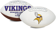 Signature Series NFL Minnesota Vikings Autograph Full Size Football
