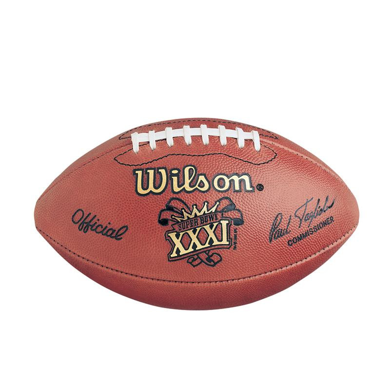 Super Bowl Xxxi Thirty One 31 Packers Vs Patriots Official