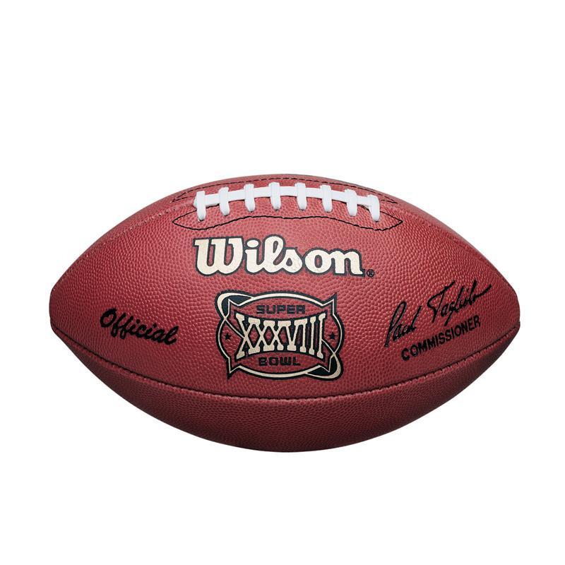 d3559dfa4c230 Super Bowl XXXVIII (Thirty-Eight 38) Panthers vs. Patriots Official ...