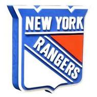 New York Rangers 3D Fan Foam Logo Sign