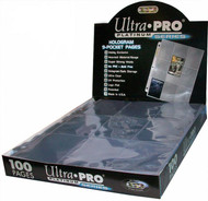 100 Ultra-Pro Platinim 9-card - Holo Pocket Pages