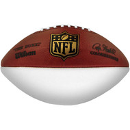 Wilson Official Authentic NFL 1 White Autograph Panel Football Model F1180