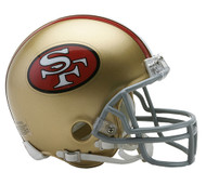 San Francisco 49ers 1964-95 Riddell Mini Helmet