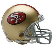 San Francisco 49ers 1964-95 Riddell Mini Helmet