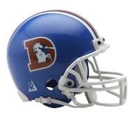 Denver Broncos 1975-96 Riddell Mini Helmet