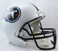Tennessee Titans NFL Throwback 1999-2017 Riddell Full Size Replica Helmet