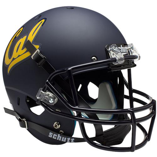 Cal Bears Matte Blue Schutt Full Size Replica XP Football Helmet
