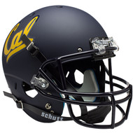 Cal Bears Matte Blue Schutt Full Size Replica XP Football Helmet