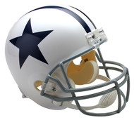 Dallas Cowboys White Riddell Full Size Replica Helmet