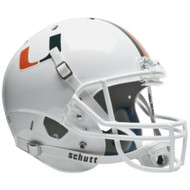 Miami Hurricanes Schutt Full Size Replica XP Football Helmet