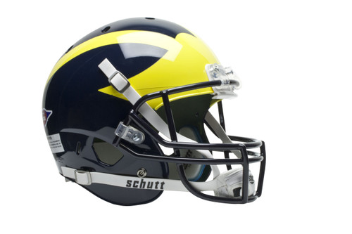 Michigan Wolverines Schutt Full Size Replica XP Football Helmet