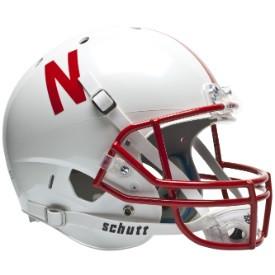 Nebraska Cornhuskers Schutt Full Size Replica XP Football Helmet