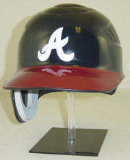 Atlanta Braves Navy/Red Home Rawlings Coolflo REC Full Size Baseball Batting Helmet