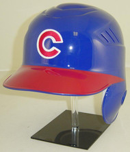 Chicago Cubs Blue/Red Road Rawlings Coolflo LEC  Full Size Baseball Batting Helmet