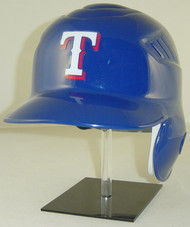 Texas Rangers Blue Rawlings Coolflo LEC Full Size Baseball Batting Helmet