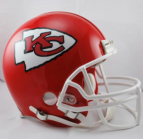 dde4e443f68 Kansas City Chiefs Riddell Full Size Authentic Proline Helmet. Riddell.  Image 1