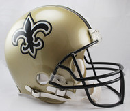 New Orleans Saints Riddell Full Size Authentic Proline Helmet