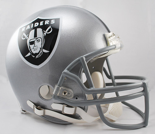 Las Vegas Raiders Riddell Full Size Authentic Proline Helmet