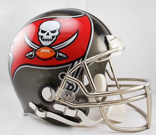 Buccaneers Full Size Speed  Football Helmet Decals Bumper Set