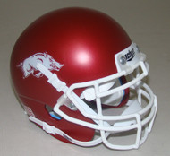 Arkansas Razorbacks Schutt Mini Authentic Football Helmet