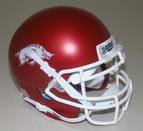 Arkansas Razorbacks Schutt Mini Authentic Football Helmet