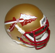 Florida State Seminoles (FSU) Schutt Mini Authentic Football Helmet