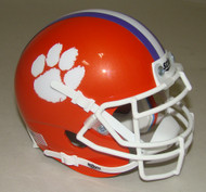 Clemson Tigers Schutt Mini Authentic Football Helmet
