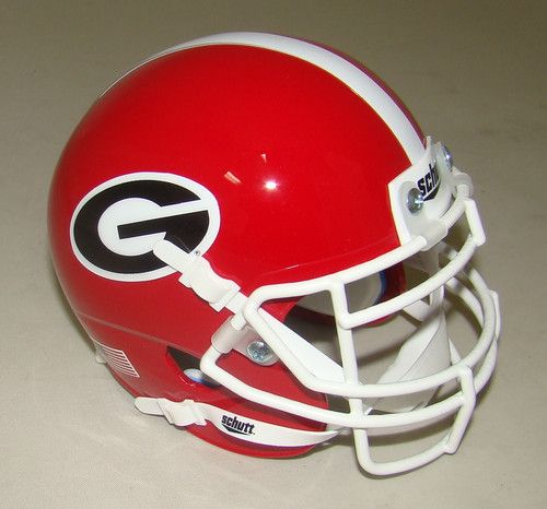 Georgia Bulldogs Schutt Mini Authentic Football Helmet
