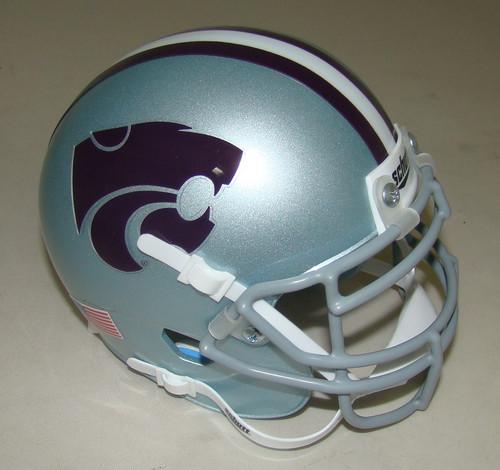 Kansas State Wildcats Schutt Mini Authentic Football Helmet