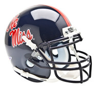 Mississippi (Ole Miss) Rebels Schutt Mini Authentic Football Helmet