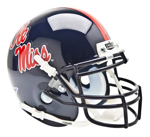 Mississippi (Ole Miss) Rebels Schutt Mini Authentic Football Helmet