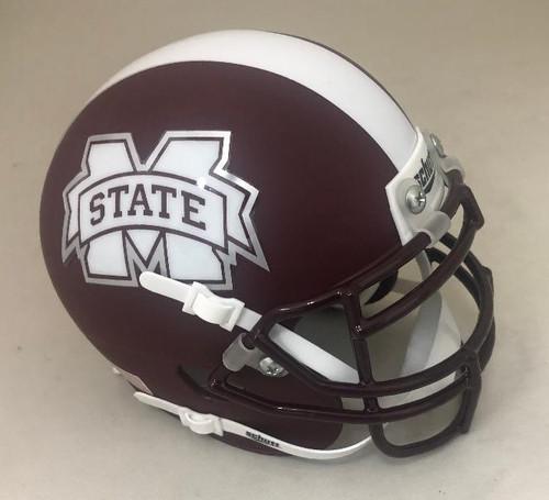 Mississippi State Bulldogs Schutt Mini Authentic Football Helmet