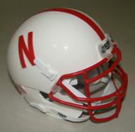 Nebraska Cornhuskers Schutt Mini Authentic Football Helmet