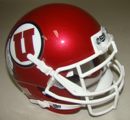 Utah Utes Schutt Mini Authentic Football Helmet