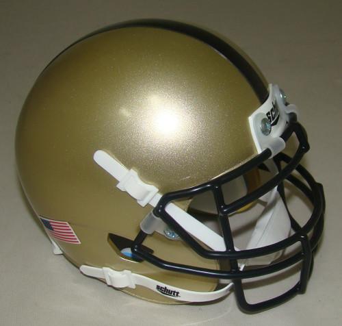 Army Black Knights Schutt Mini Authentic Football Helmet