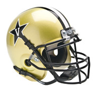 Vanderbilt Commodores Schutt Mini Authentic Helmet