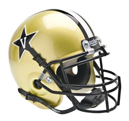 Vanderbilt Commodores Schutt Mini Authentic Football Helmet